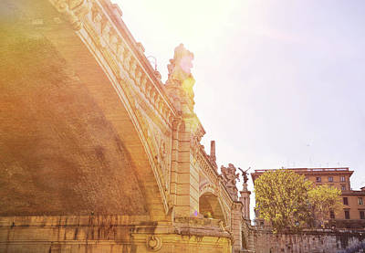 Photograph - Ponte Vittorio Emanuele II River View by JAMART Photography