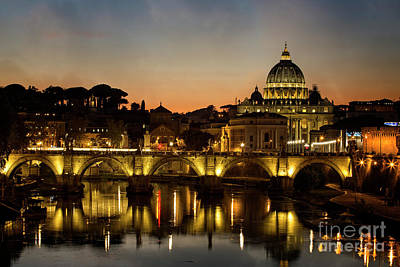 Photograph - Ponte Vittorio by Scott Kemper