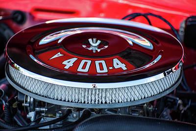 Pyrography - Pontiac 400-4 by Douglas Milligan