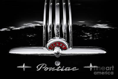 Classic Trim Photograph - Pontiac 8 by Tim Gainey