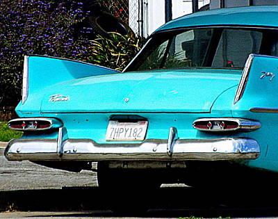 Photograph - Pontiac Blue by Kimberly-Ann Talbert