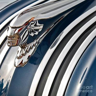 Photograph - 1953 Pontiac Chief Hood Ornament by Linda Bianic