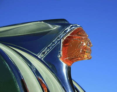 Photograph - Pontiac Chieftain by Tony Baca