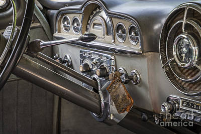 Photograph - Pontiac Dashboard by Joann Long