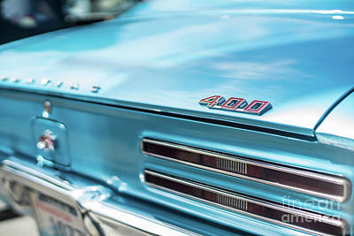 Tri-motor Photograph - Pontiac Firebird 400 Closeup by Mike Reid