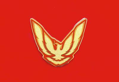 Photograph - Pontiac Firebird Emblem by Ram Vasudev