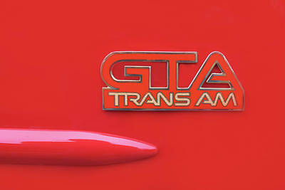 Photograph - Pontiac Firebird Gta Trans Am by Ram Vasudev
