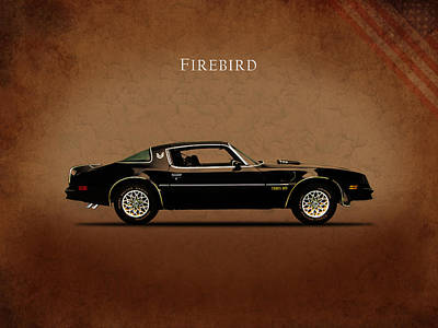 Muscle Cars Photograph - Pontiac Firebird by Mark Rogan
