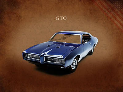 Muscle Cars Photograph - Pontiac Gto by Mark Rogan