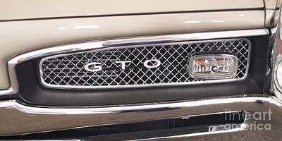 Photograph - Pontiac Gto by Pamela Walrath