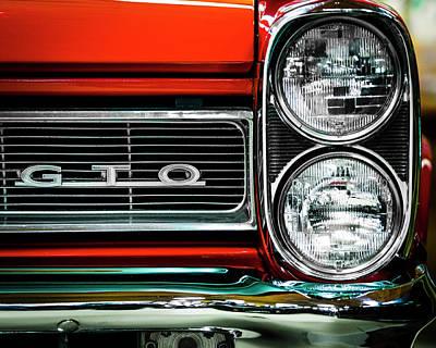 Photograph - Pontiac Gto by Van Sutherland