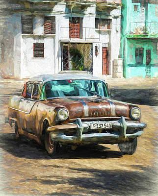 Photograph - Pontiac Havana by Lou Novick
