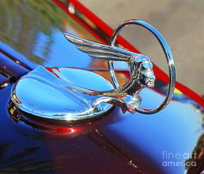 Photograph - Pontiac Hood Ornament by Douglas Miller