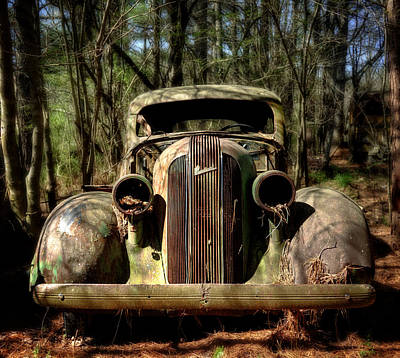 Photograph - Pontiac In The Woods by Greg Mimbs