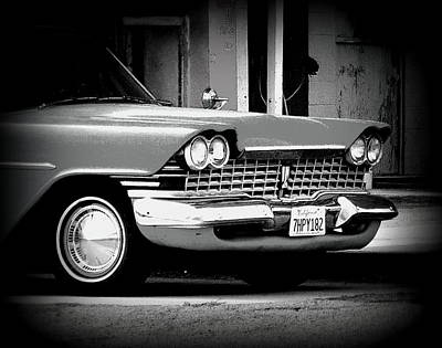 Photograph - Pontiac Smile Bw by Kimberly-Ann Talbert
