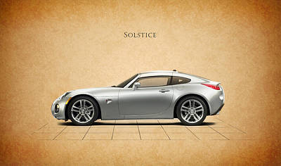 Solstice Photograph - Pontiac Solstice by Mark Rogan