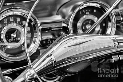 Photograph - Pontiac Steering by Dennis Hedberg