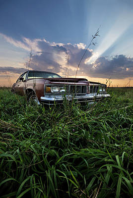Photograph - Pontiac Sunset  by Aaron J Groen