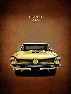 Tempest Photograph - Pontiac Tempest Gto by Mark Rogan