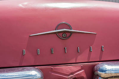 Photograph - Pontiac by Tony Baca