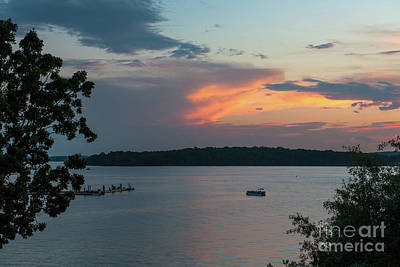 Photograph - Pontoon Boat Dreaming by Dale Powell
