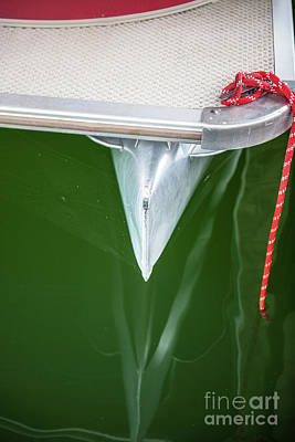 Photograph - Pontoon Boat Reflections by Dale Powell