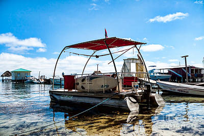 Photograph - Pontoon by Lawrence Burry