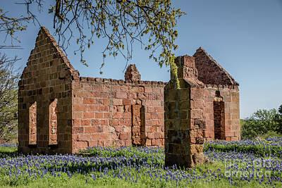 Photograph - Pontotoc Ruins by Teresa Wilson