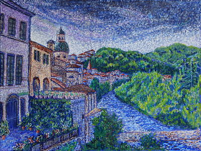Pontremoli - Italy Art Print