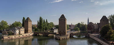 Photograph - Ponts Couverts Strasbourg France by Teresa Mucha