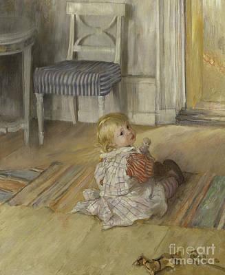 Crafts Kids Painting - Pontus, 1890 by Carl Larsson