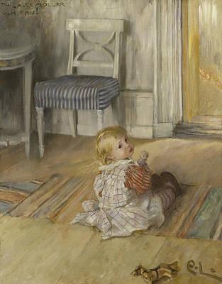 Painter Art Painting -  Pontus by Carl Larsson