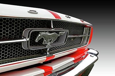Pony Car Grille Art Print