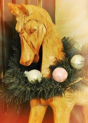 Pony For Christmas Art Print by JAMART Photography