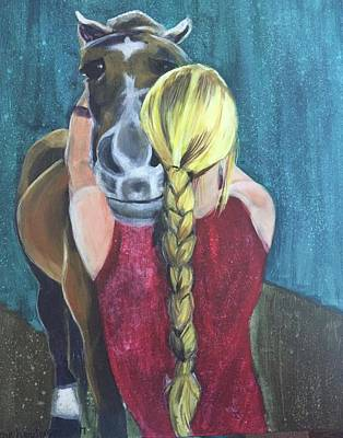 Painting - Pony Love by Cherylene Henderson