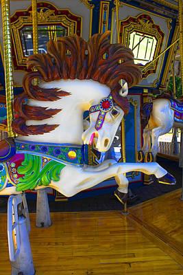 Photograph - Pony Carousel - Pony Series 6 by Carlos Diaz