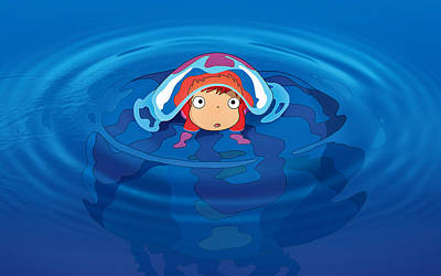 Digital Art - Ponyo by Maye Loeser