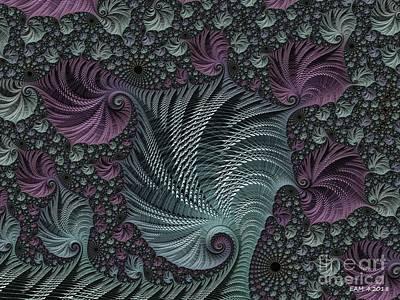 Digital Art - Ponytails by Elizabeth McTaggart