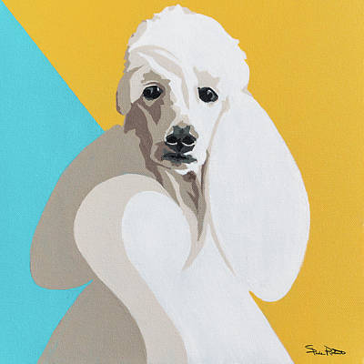 Painting - Poodle by Slade Roberts
