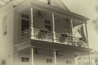 Photograph - Poogans Porch - Charleston by Dale Powell