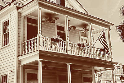 Photograph - Poogans Porch - Sweet Tea by Dale Powell