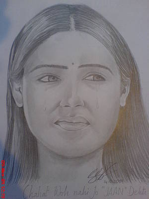Muslims Of The World Drawing - Pooja Bose  by Sandeep Kumar Sahota