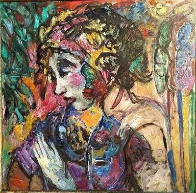 Painting - Pooka by Mykul Anjelo