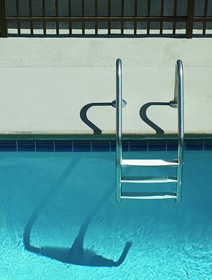 Pool Ladder And Shadows Original