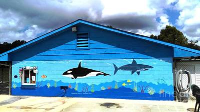 Painting - Pool Mural by Stacy C Bottoms