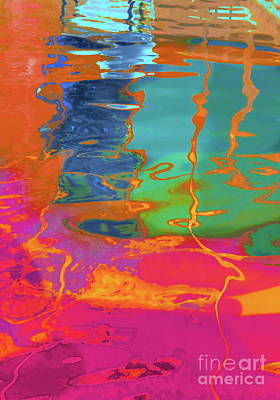 Photograph - Pool Reflection  by Expressionistart studio Priscilla Batzell