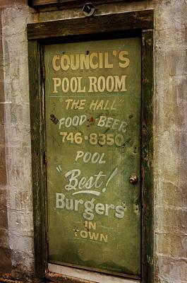 Pool Room Art Print
