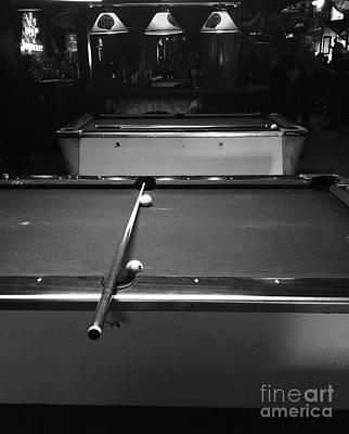 Billiards Hall Digital Art - Pool Table II by Venus