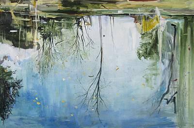 Pool  Zurich Print by Calum McClure