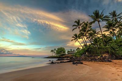Photograph - Po'olenalena Beach Sunrise by Pierre Leclerc Photography